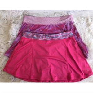 2 Pair Danskin Womens Skorts Skirt Shorts